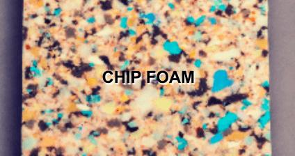 Chip-foam