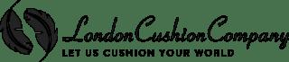 London Cushion Company Logo Black