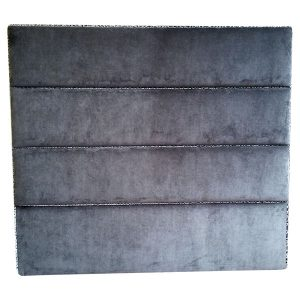 Small Double Upholstered Velvet Headboard - London Cushion Company